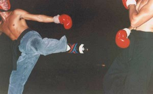 Kickboxing in Hawaii.